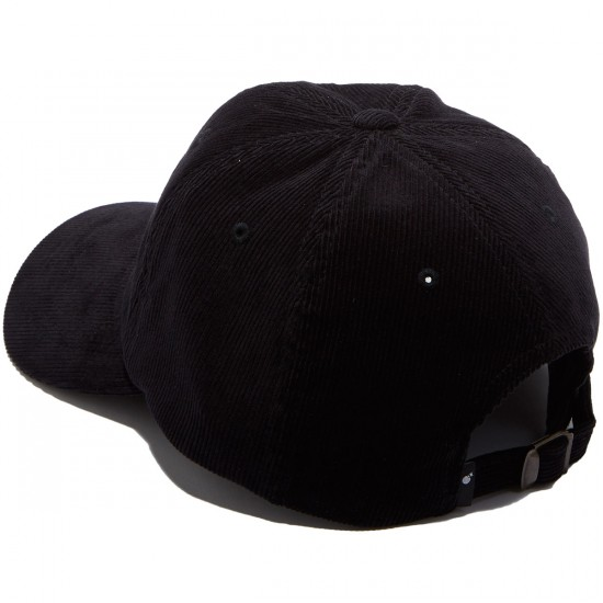 The Hundreds Plain Strapback Hat - Black