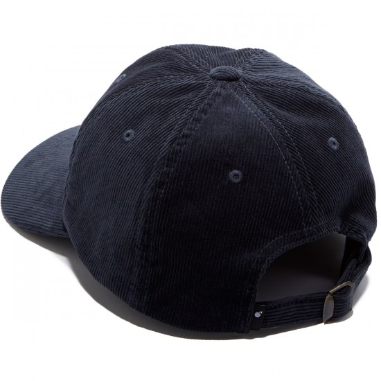 The Hundreds Plain Strapback Hat - Navy