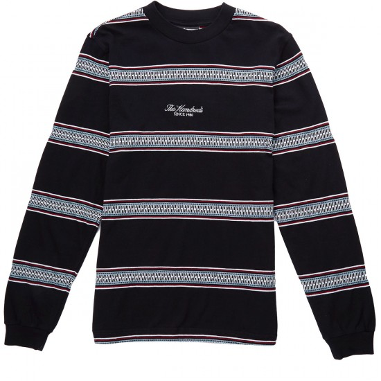 The Hundreds Cove Long Sleeve T-Shirt - Black