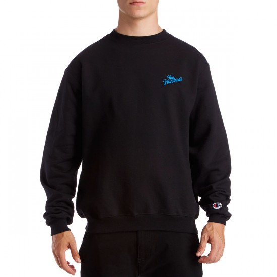 The Hundreds Slant Crewneck Sweatshirt - Black
