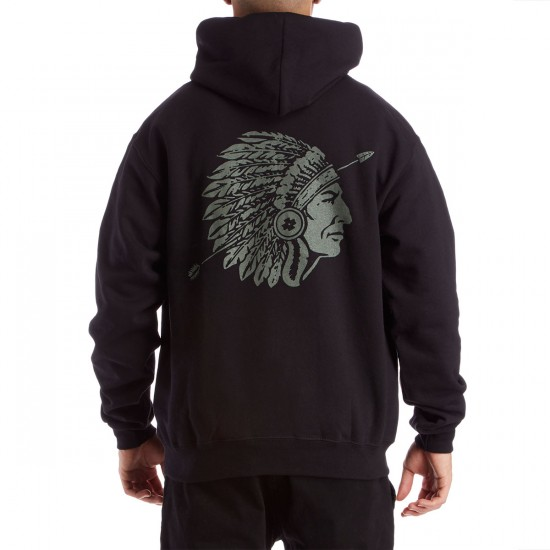 The Hundreds Chiefs Pullover Hoodie - Black