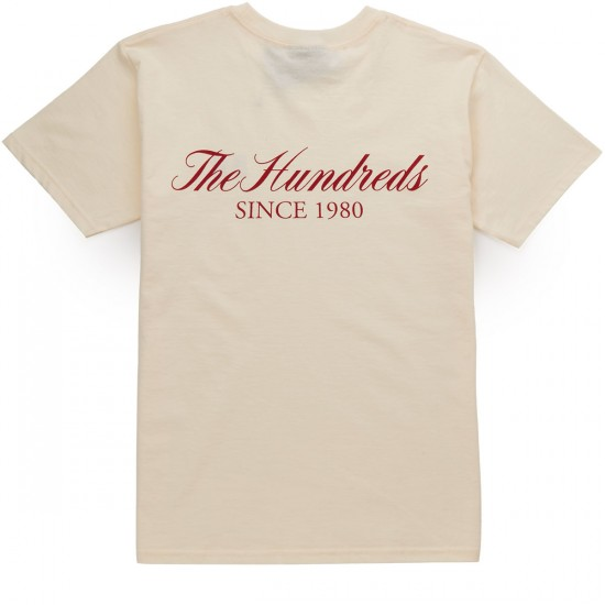 The Hundreds Rich Flag T-Shirt - Cream