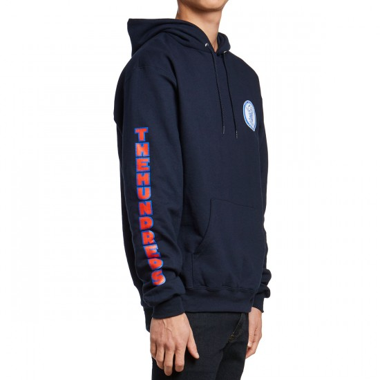 The Hundreds Wooly Pullover Sweatshirt - Navy