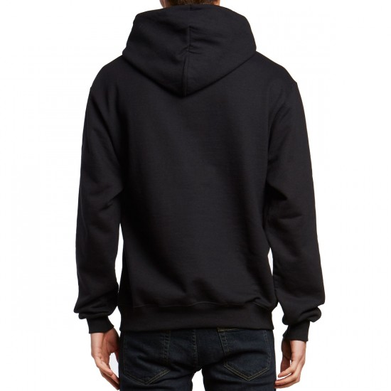 The Hundreds Crest Adam Pullover Sweatshirt - Black