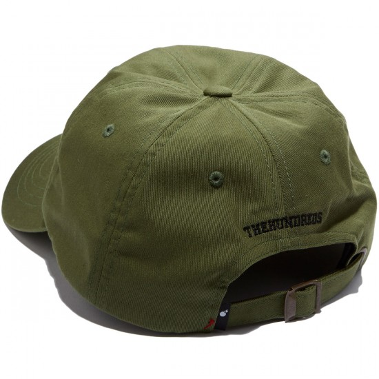 The Hundreds Solid Bomb Strapback Hat - Forest