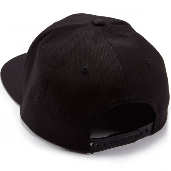 The Hundreds Cycle Snapback Hat - Black