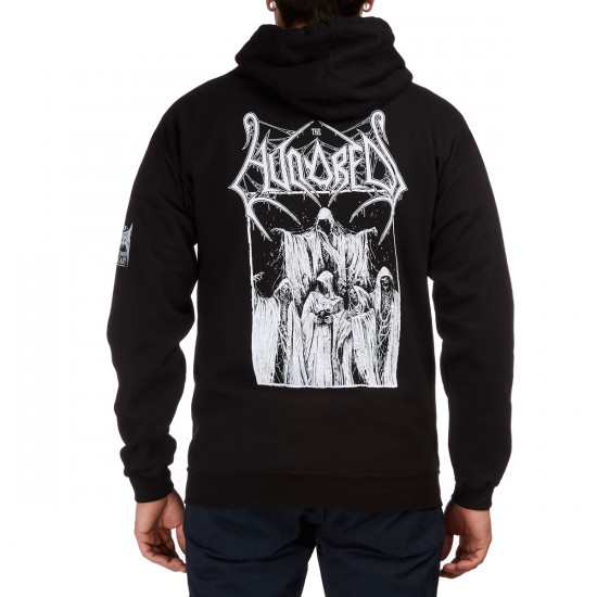 The Hundreds X Mark Riddick The Council Pullover Hoodie - Black