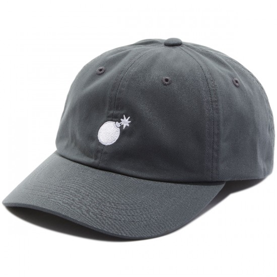The Hundreds Solid Bomb Strapback Hat - Charcoal