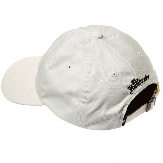 The Hundreds Rose Strapback Hat - Off White