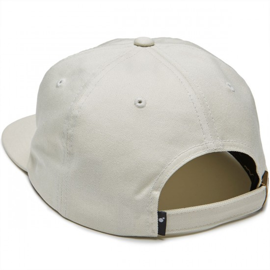 The Hundreds Bum Strapback Hat - Off White