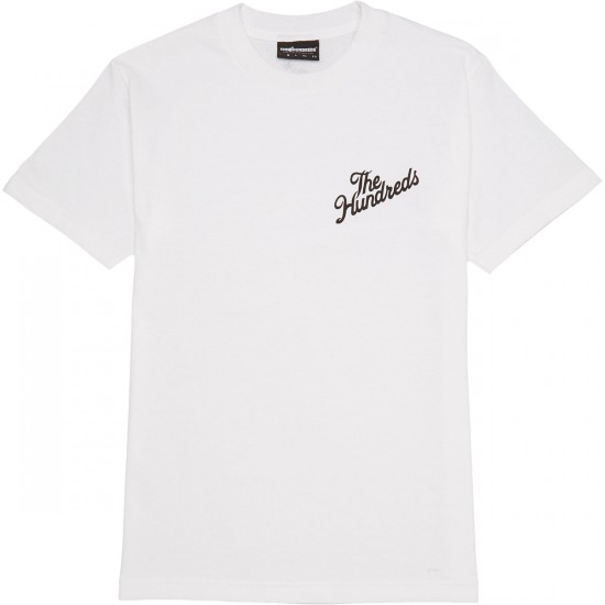 The Hundreds Forever Slant Crest T-Shirt - White