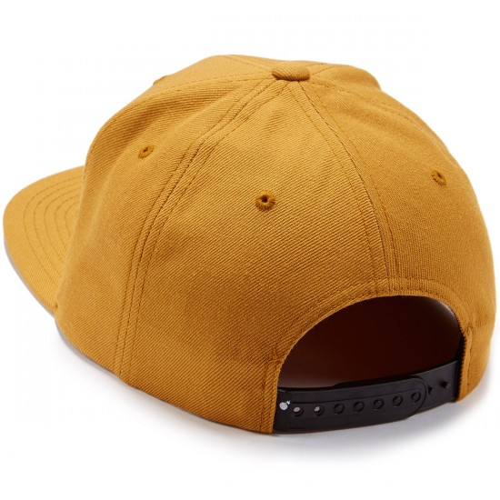 The Hundreds Adam Snapback Hat - Ocre