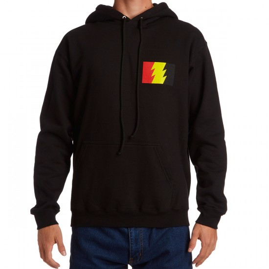 The Hundreds Wildfire Logo Pullover Hoodie - Black/Multi