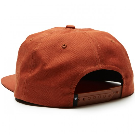 The Hundreds Script Snapback Hat - Field Tan