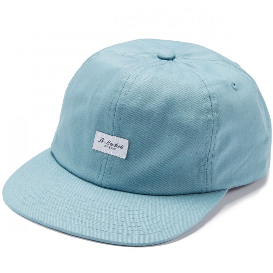 The Hundreds Script Snapback Hat - Pale Turquoise