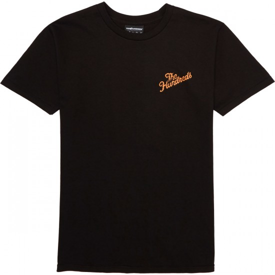 The Hundreds Lightning Slant T-Shirt - Black