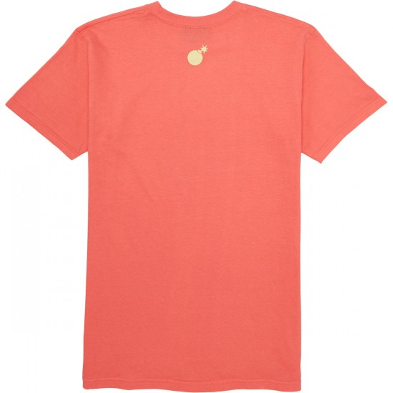 The Hundreds The Garden T-Shirt - Coral