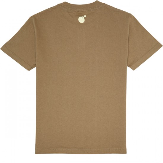 The Hundreds Wheel Slant T-Shirt - Safari Green
