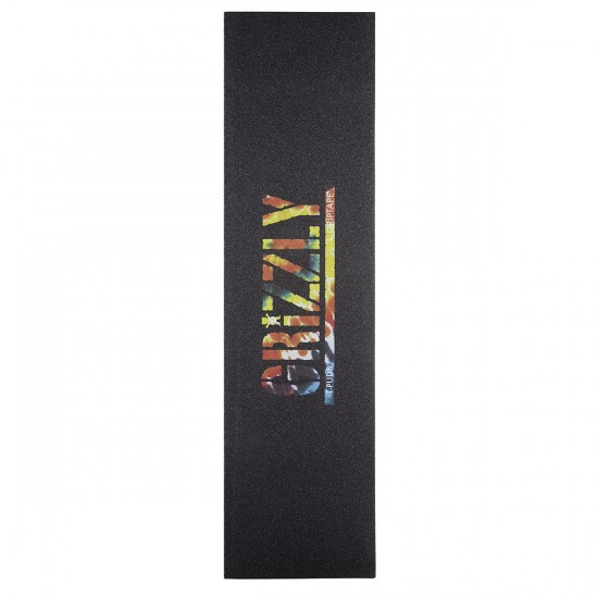 Grizzly T-Puds Signature Griptape - Orange Tie-Dye