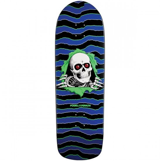 Powell Classic Ripper Skateboard Deck - Blue