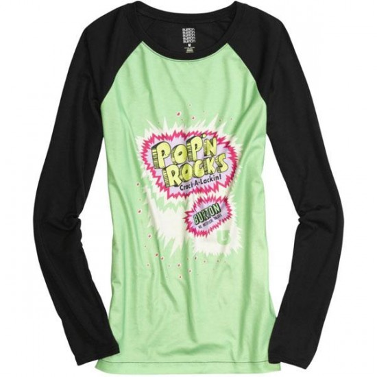 Burton Women's Tech Tee 2013 - Pop N Rocks