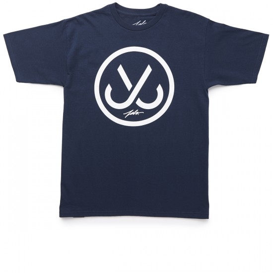 JSLV Hooks T-Shirt - Navy/White