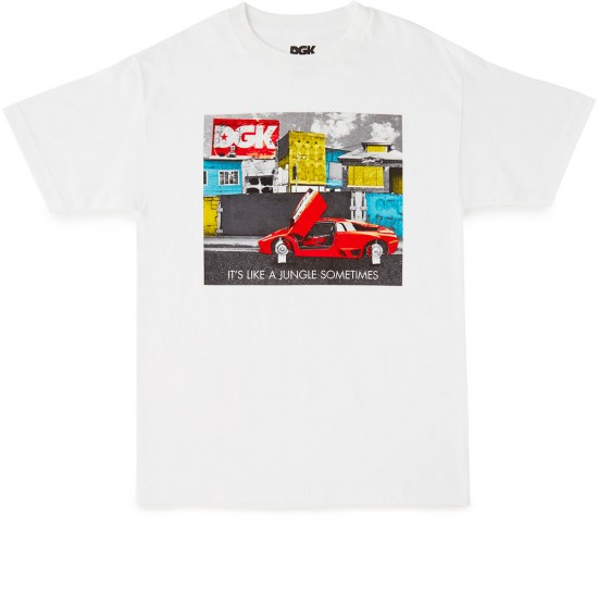DGK Jungle T-Shirt - White