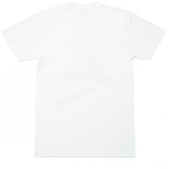 Everybody Skates Go Big T-Shirt - White