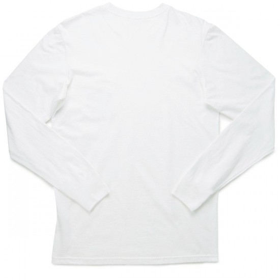 Everybody Skates Fight The Good Fight Long Sleeve Shirt - White