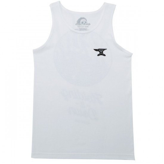 Sketchy Tank Killer Tank Top - White