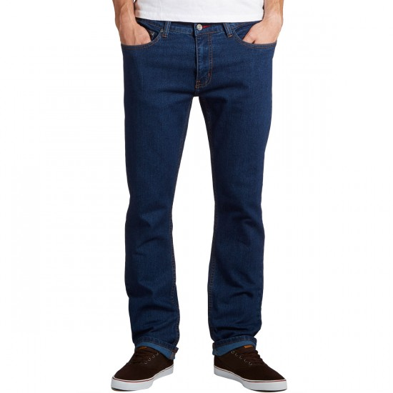 CCS Slim Straight Fit Jeans - Dark Rinse - 29 - 32