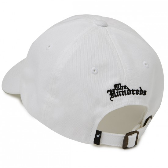 The Hundreds Rose Strapback Hat - White