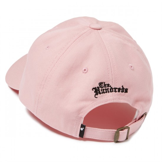 The Hundreds Rose Strapback Hat - Pink