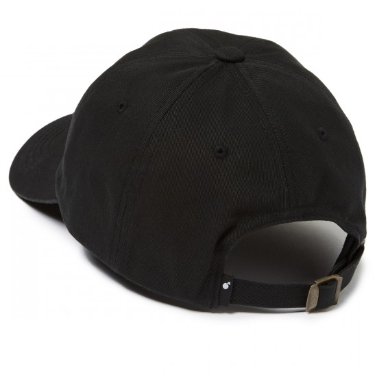 The Hundreds Mills Strapback Hat - Black