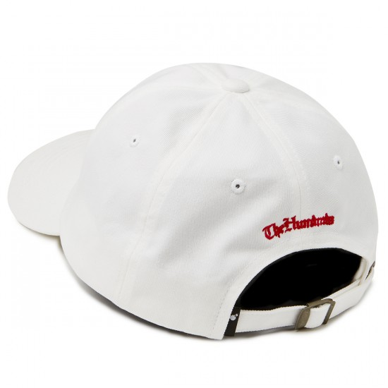 The Hundreds Hyna Strapback Hat - White