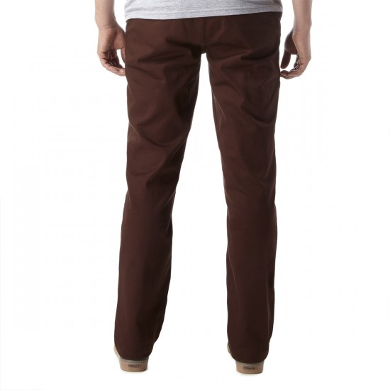 Expedition Drifter Chino Pants - Dark Brown - 28 - 32