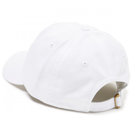 Pizza Emoji Delivery Hat - White