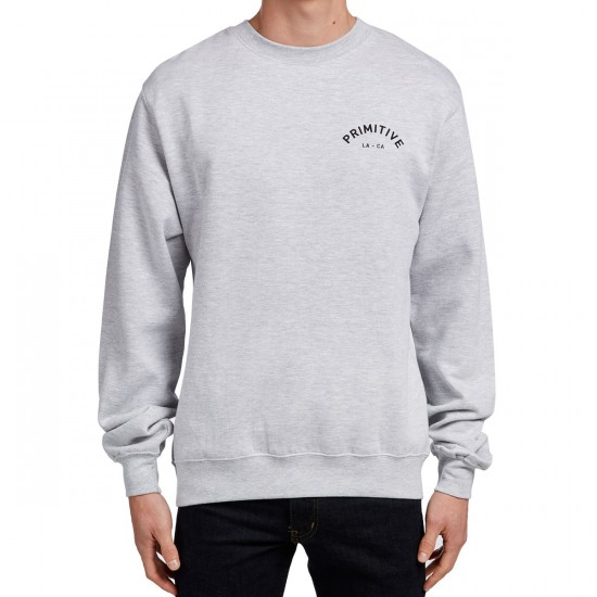 Primitive Surplus II Crewneck Sweatshirt - Athletic Heather