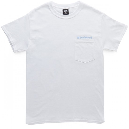 Lurk Hard BP Classifieds Pocket T-Shirt - White