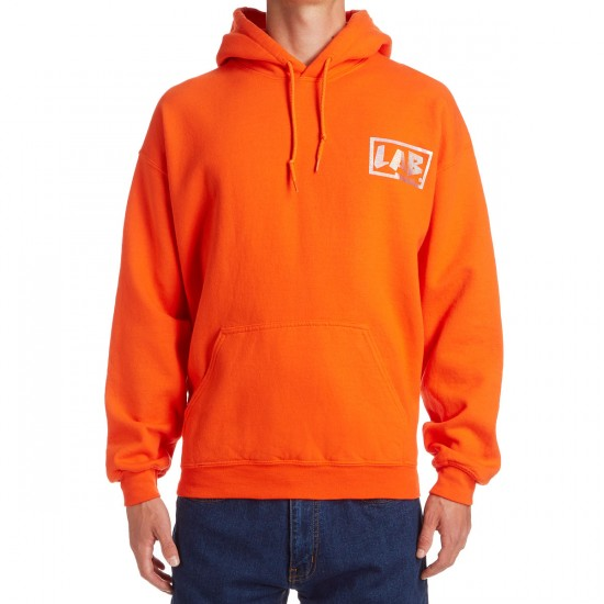 Lifes A Beach Holo Hoodie - Safety Orange
