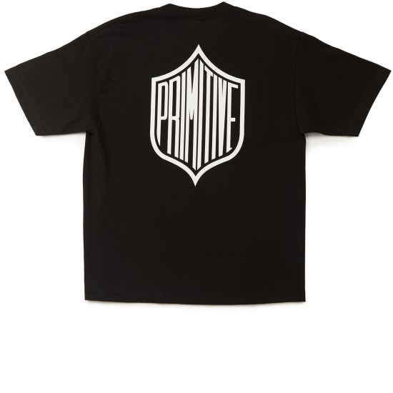 Primitive Gridiron T-Shirt - Black