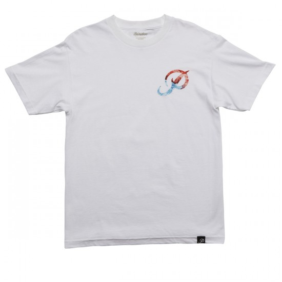 Primitive Classic P Ink T-Shirt - White