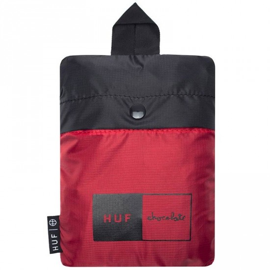 HUF X Chocolate Packable Backpack - Black