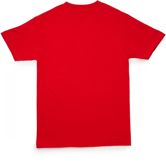 Primitive Bull Arch T-Shirt - Red