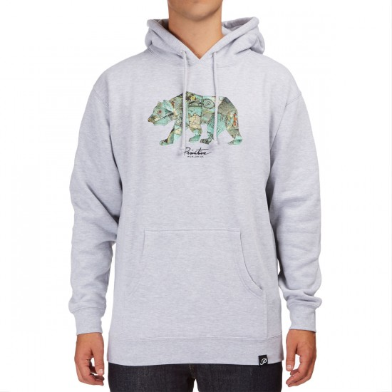 Primitive Explorer Pullover Hoodie - Athletic Heather