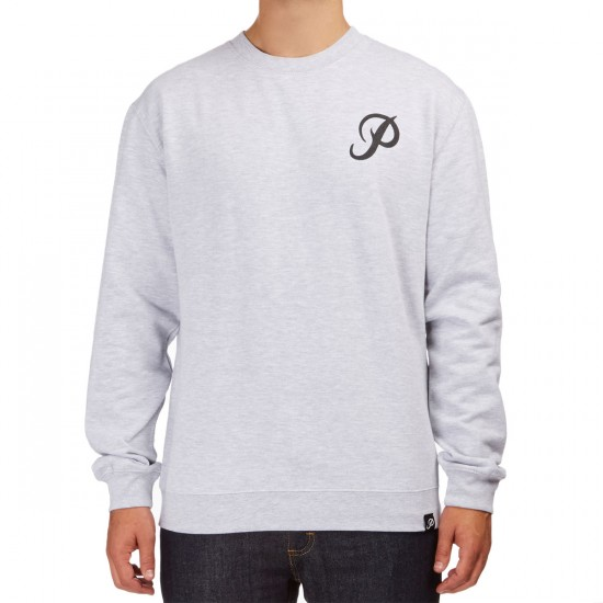 Primitive Classic P Crewneck Sweatshirt - Athletic Heather