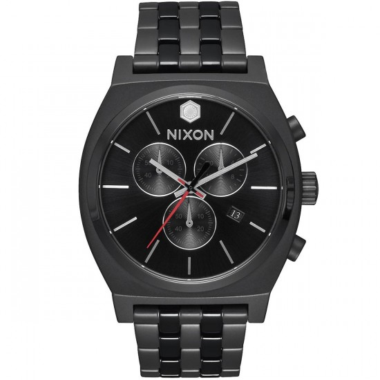 Nixon X Star Wars Time Teller Chrono Watch - Kylo Black