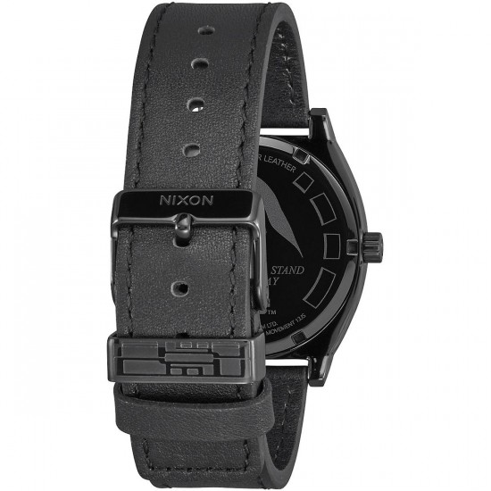 Nixon X Star Wars Time Teller Leather Watch - Kylo Black