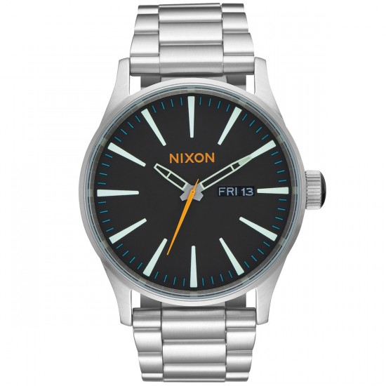 Nixon Sentry SS Watch - Black/Multi
