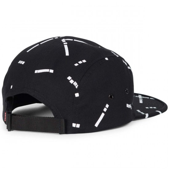 Herschel Glendale C Hat - Black Code Cotton
